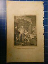 nach William Hogarth Stahlstich 13x22cm After H15163