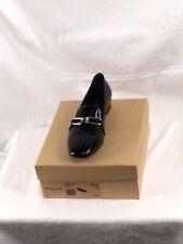 Women's NIB Michael Kors Collection Lennox Loafer Leather Black Size 9
