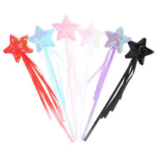 2x Five Pointed Star Fairy Magic Wand Magic Stick Party Toys for Kids H5