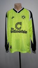 Football shirt soccer Borussia Dortmund BVB Home 1995/1996 Nike Jersey Long XL