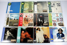 JOHN LENNON ~ JAPAN MINI LP CD, LOT OF 12 ALBUMS, ORIGINAL, RARE/ THE BEATLES