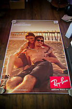 RAY BAN  4x6 ft Bus Shelter Original Fashion Advertising Poster