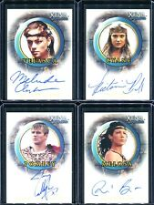 Xena Beauty & Brawn Complete 14 Card Autograph Set A22 - A34 Melinda Clarke