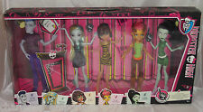 New monster high student disembody council on monster high 5 pack exclusif