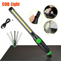 Multifunction 410 Lumen Rechargeable Portable COB LED Slim Work Night Light Lamp