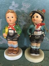 Vintage Schmid Figures Tree Ornaments Singing Hummel Reproductions 1983/1985