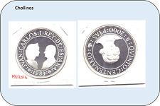 2000 PESETAS DE PLATA  JUAN CARLOS I   AÑO 1989     ( MB12016 )