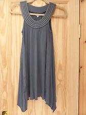 Ladies NEXT Grey Sleeveless Top - Size 8