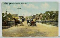 Sharon Pa View Viaduct Looking North c1911 Postcard N10