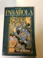 PARABOLA  The Magazine of Myth and Tradition   Vol 22, No. 1  Spring 1997