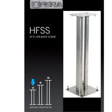 Quiklok Opera Hfss060ti Coppia Stand piedistalli Supporti per Diffusori