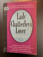 Lady Chatterley's Lover by D.H. Lawrence, 1st Edition 1st Printing -1959 (C-363)