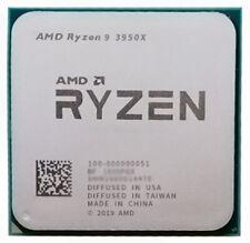 AMD Ryzen R9-3950X R7-3900X R7-3800X R7-3700X R5-3600X Socket AM4 CPU Processor