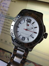 TOMMY HILFIGER - Silver Wristwatch modern,analog,casual,automatic,Men's,