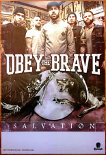 OBEY THE BRAVE Salvation Ltd Ed Discontinued Large RARE Poster+FREE Metal Poster