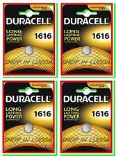4 Batterie Pile DURACELL CR 1616 CR1616 BR1616 ECR1616 5021LC 280-209 L11 L28 YA