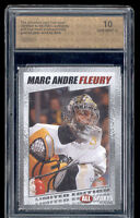 2003 Marc Andre Fleury All Sports of 1750 rookie gem mint 10