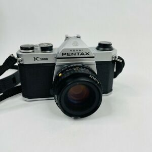 Pentax K-1000 Camera with a 50mm f2 Lens Tested - With Original Strap