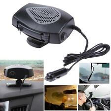 Car Heating Cooling Fan Ceramic Auto Window Defroster Demister Black DV 12V Auto