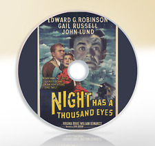 Night Has A Thousand Eyes (1948) DVD Classic Thriller Movie / Film Gail Russell