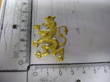 Goldener Löwe an Nadelsystem Bayern , Sachsen, etc  (A98)