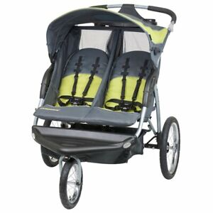 Baby Trend Double Baby Jogging Stroller Toddler Infant Twin Buggy -New