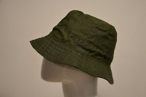 Waxed Bucket Hat Green Olive Like a Barbour