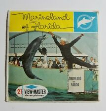 View-Master - MARINELAND OF FLORIDA - A964 - 3 Reel Set + Booklet