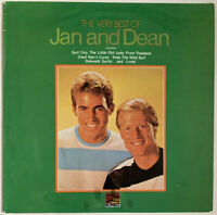 JAN AND DEAN THE VERY BEST OF JAN AND DEAN LP SUNSET UK PRO CLEANED