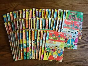 Huge Lot of 57 Archie Comic Books