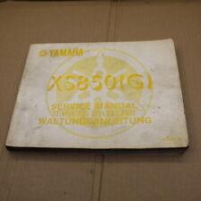 MANUEL REVUE TECHNIQUE D ATELIER YAMAHA XS 850 1980 -> service manual 850xs