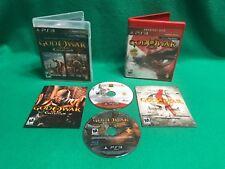 GOD OF WAR Collection 1 & 2 + God of War III (Sony PlayStation 3) PS3 CIB Games