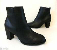 "NEW! Ladies NEXT 3"" High-heel Black ankle boots Size 6.5 BNWT £40"
