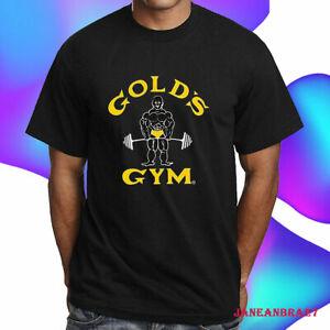 2021 Gold's Gym Black & Gray T-Shirt S-4XL