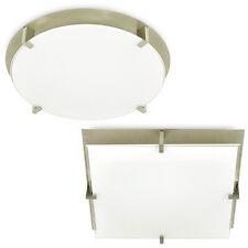 LED Ceiling Light, PLAFON, E27 Cap, 220V Mounted, Opal Glass PL-19 Ceiling LIGHT