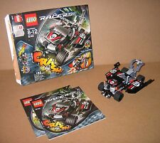 8140 LEGO Racers Tow Trasher – 100% Complete w box & Instructions EX COND 2007