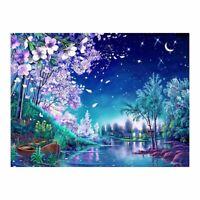 Sakura DIY 5D Diamond Painting Embroidery Cross Stitch Kits Home Decor Craft