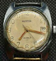 Ussr Wostok Jewels 18 Watch Vintage Vostok Soviet S Mechanical Men Wristwatch