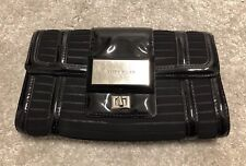 KAREN MILLEN Black Clutch Bag