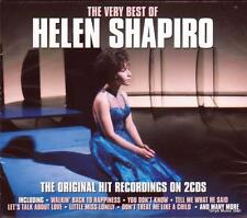 HELEN SHAPIRO - THE VERY BEST OF - THE ORIGINAL HIT RECORDINGS (NEW SEALED 2CD)