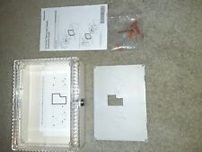 Honeywell Tg512D Thermostat Guard Large Beige Locking Cover New in box