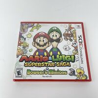 Mario & Luigi: Superstar Saga + Bowser's Minions (Nintendo 3DS, 2017) NEW SEALED