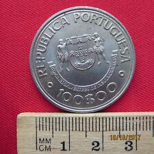 Republica portuguesa-portugal - 100 escudos 1989-Ilhas Canarias 1336-1479 - V
