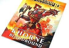 Warhammer Age of Sigmar Fantasy Khorne Bloodbound Games Workshop Codex