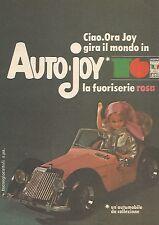 X1392 Auto Joy la fuori serie rosa - Pubblicità del 1977 - Vintage advertising