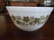 Vintage PYREX CRAZY DAISY SPRING BLOSSOM 1-1/2 Quart Mixing Nesting Bowl #402