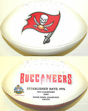 Tampa Bay Buccaneers 2014 Rawlings Fotoball Full Size NFL Team Logo Football