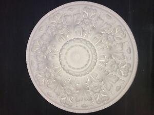 Plaster ceiling rose, Large Floral design. 615mm wide. CP50