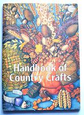 AA HANDBOOK OF COUNTRY CRAFTS 1973 1st ed Barbara Hargreaves PB VGC well illust