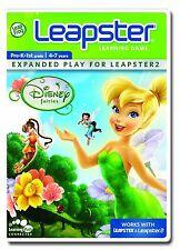 Tinkerbell Leapster LeapFrog Gioco di apprendimento - 30800 Disney Fairies-Nuovo